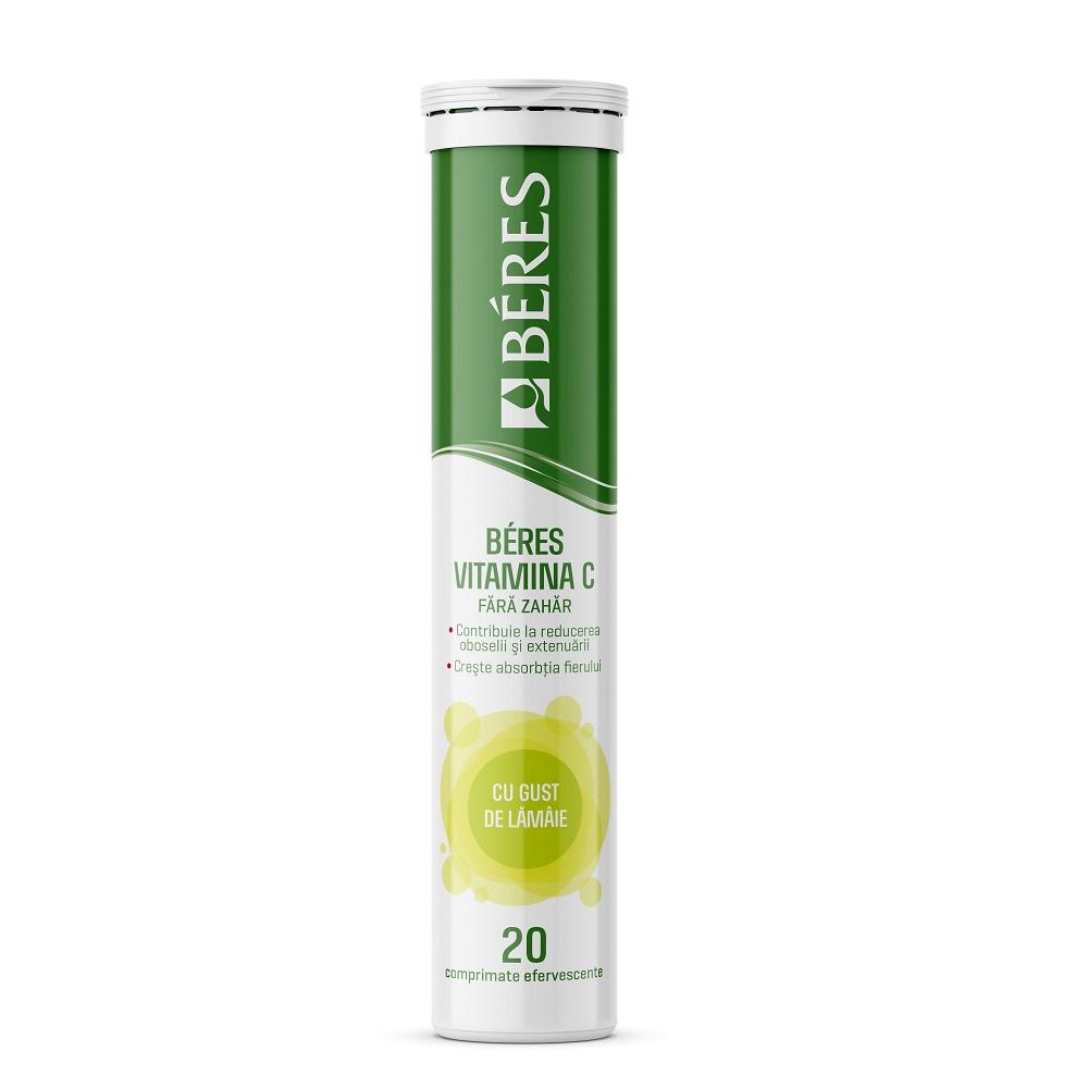 Vitamina C 60 mg, 20 comprimate, Beres