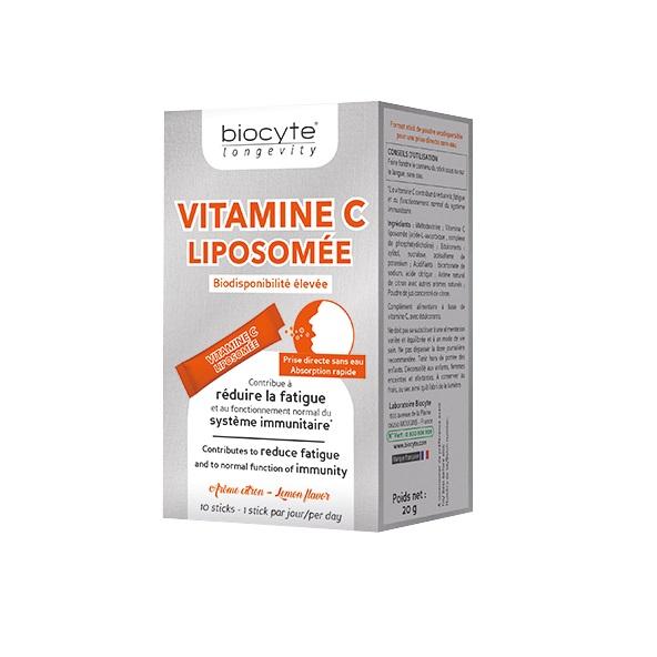 Vitamina C Lipozomala, 10 plicuri, Biocyte