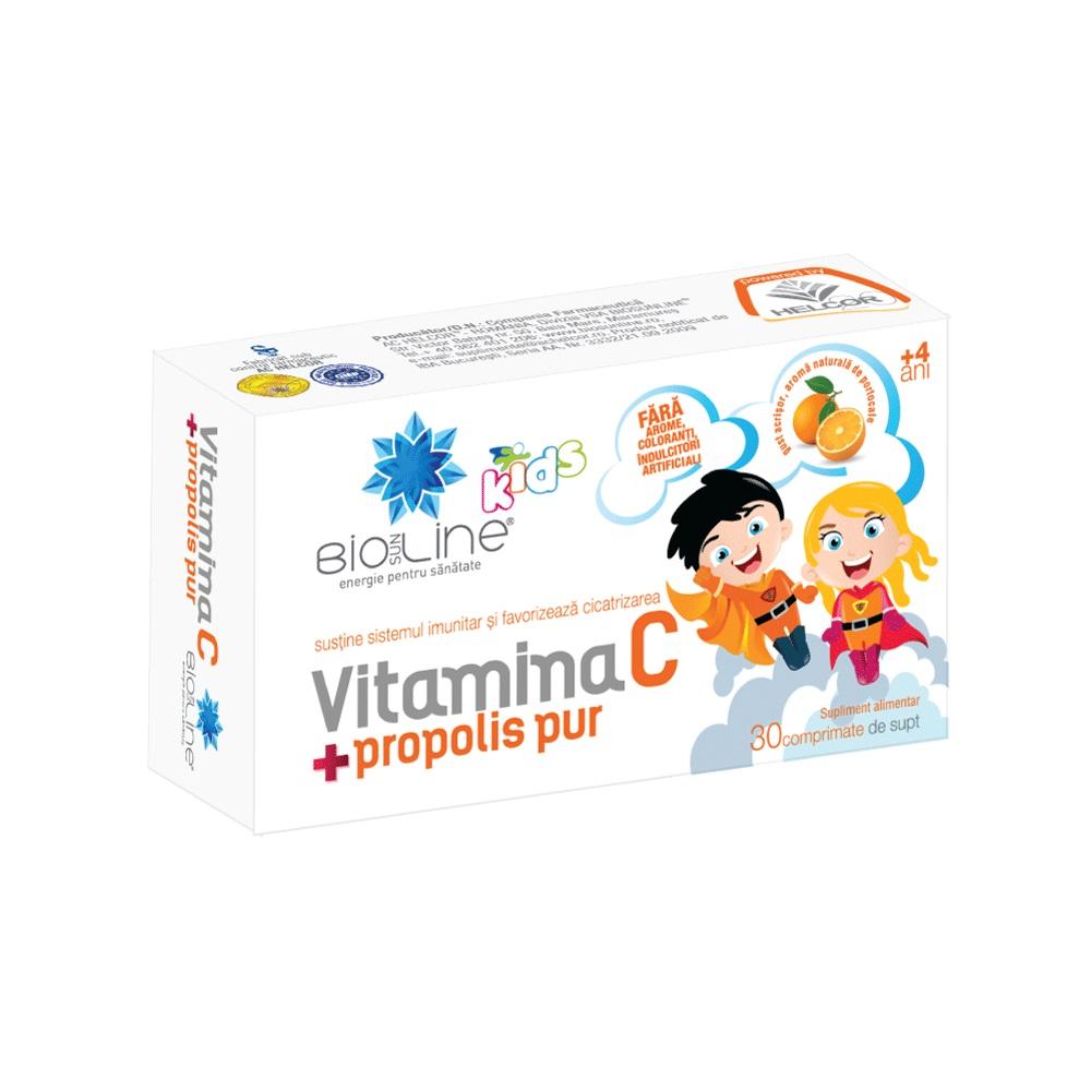 pastile cu propolis si vitamina c