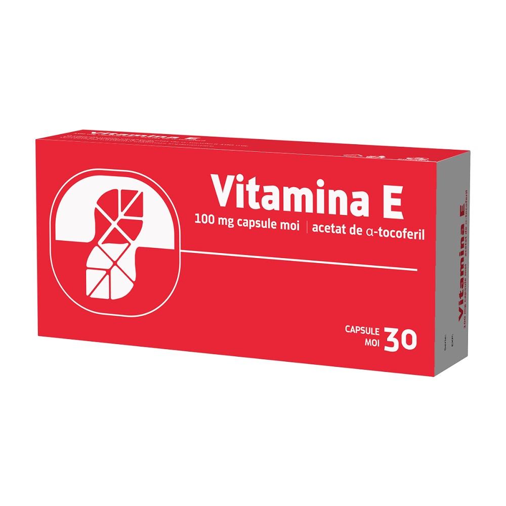 Vitamina E, 30 capsule moi, Biofarm