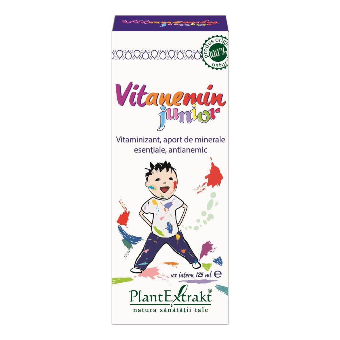 Vitanemin Junior, 125 ml, Plant Extrakt