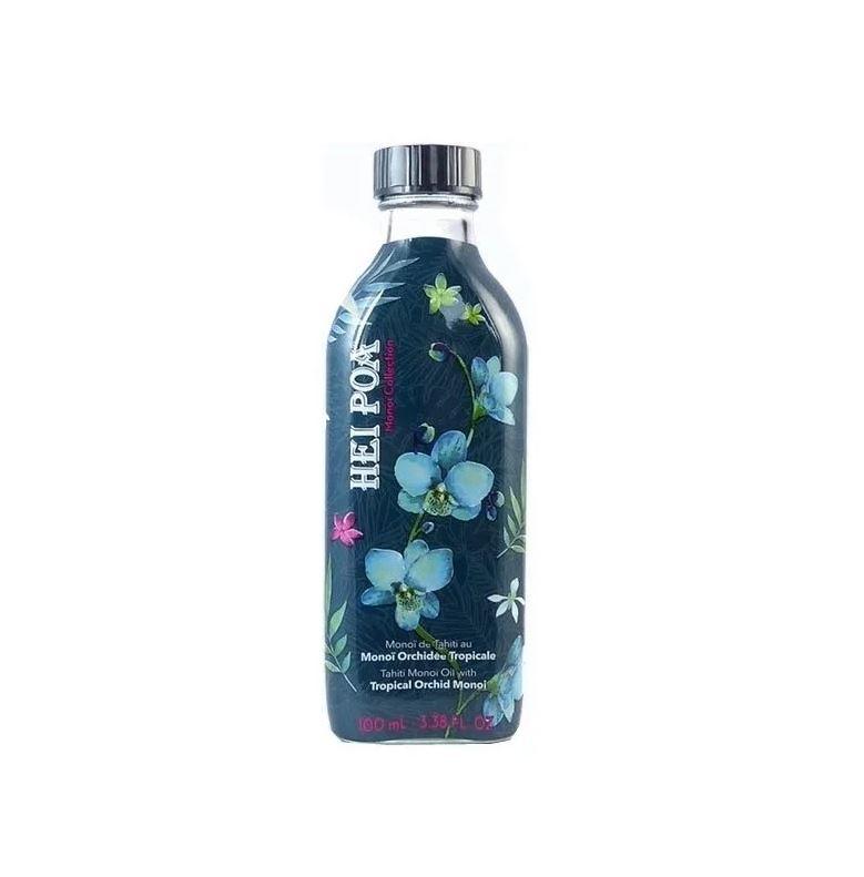 Ulei de Monoi AO cu parfum de Orhidee Tropicala, 100 ml, Hei Poa Tahiti