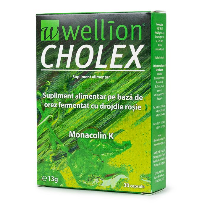 Wellion Cholex, 30 capsule, Med Trust