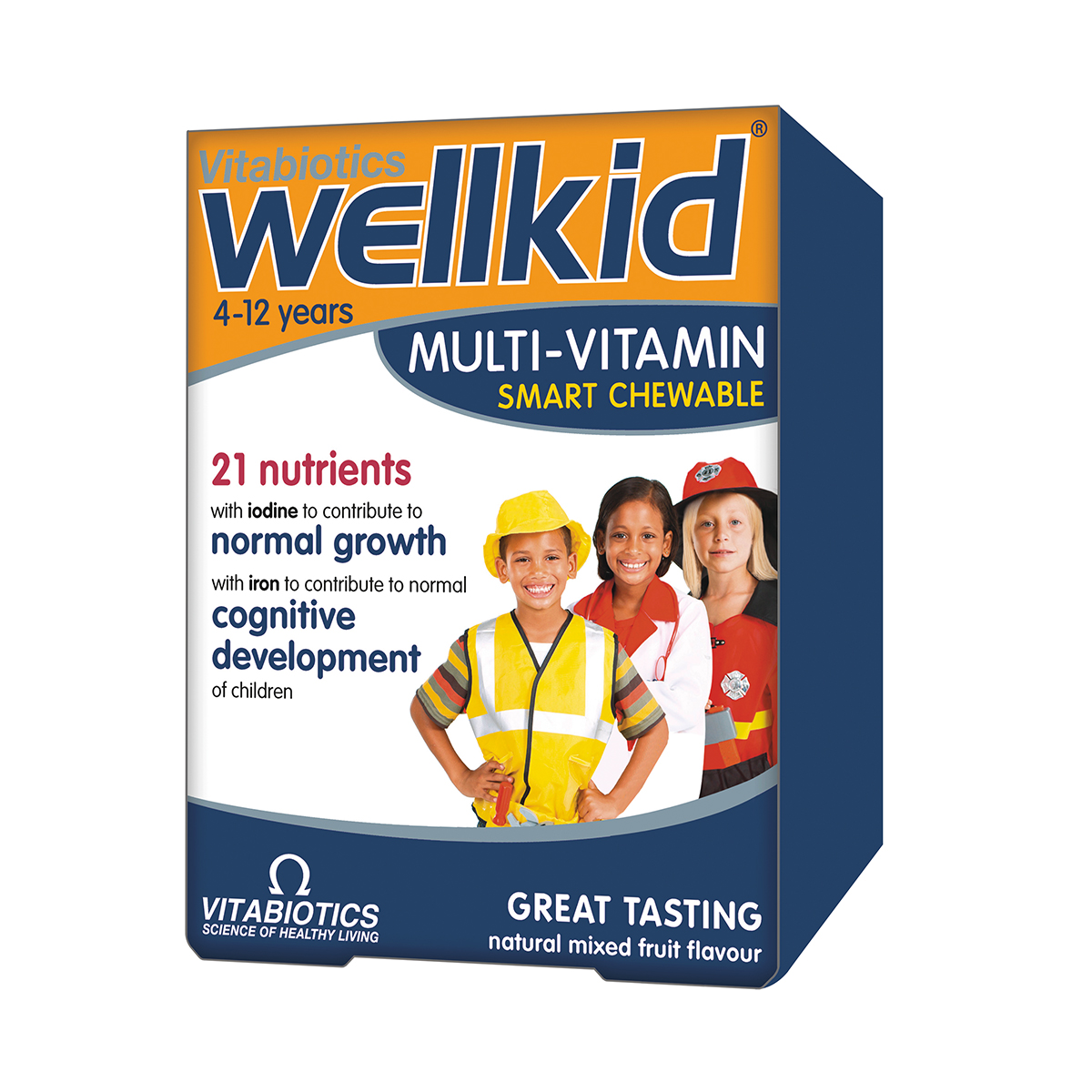 WellKid Smart, 30 tablete mestecabil, Vitabiotics