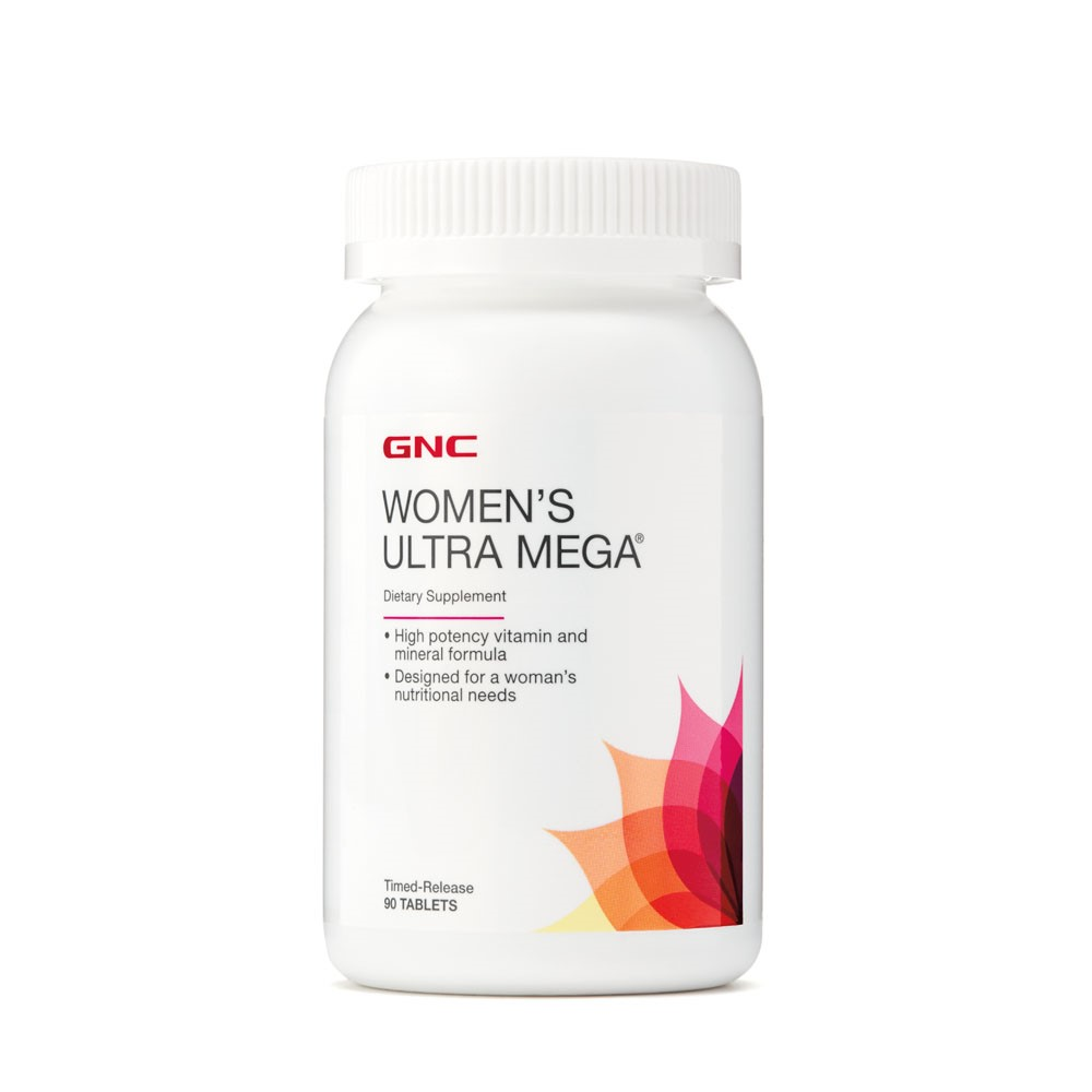 Women s Ultra Mega (574966), 90 tablete, GNC