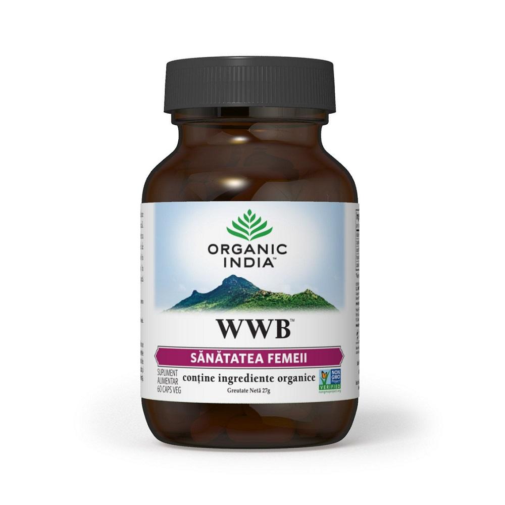 WWB, 60 capsule, Organic India