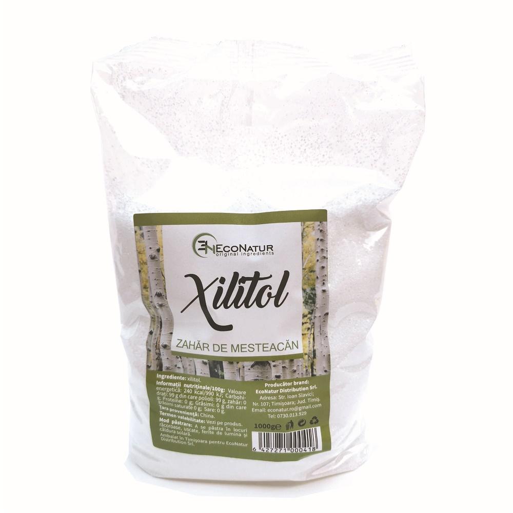 Xilitol, 1000 g, EcoNatur