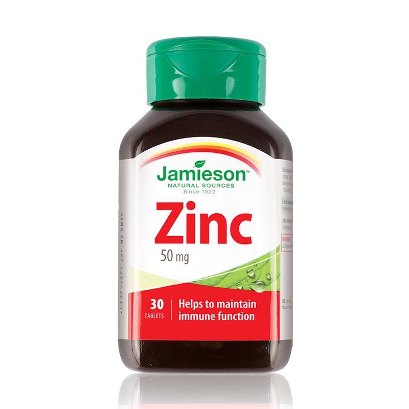 Zinc 50mg, 30 tablete, Jamieson