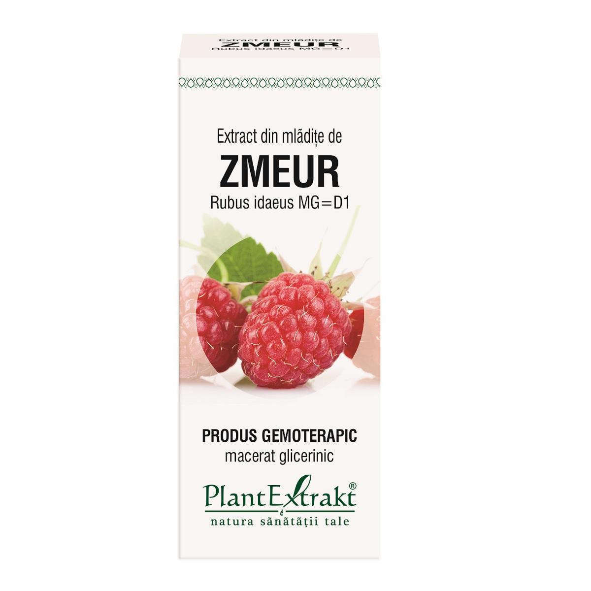 Extract din mlădițe de Zmeur, 50 ml, Plant Extrakt
